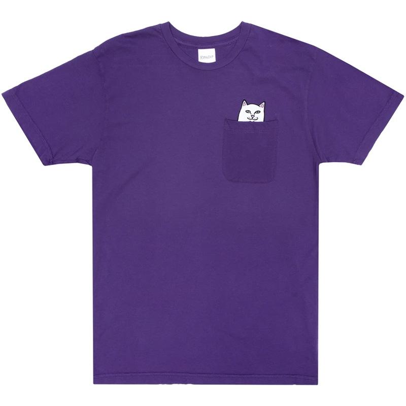 RIPNDIP Lord Nermal Pocket T-Shirt Purple