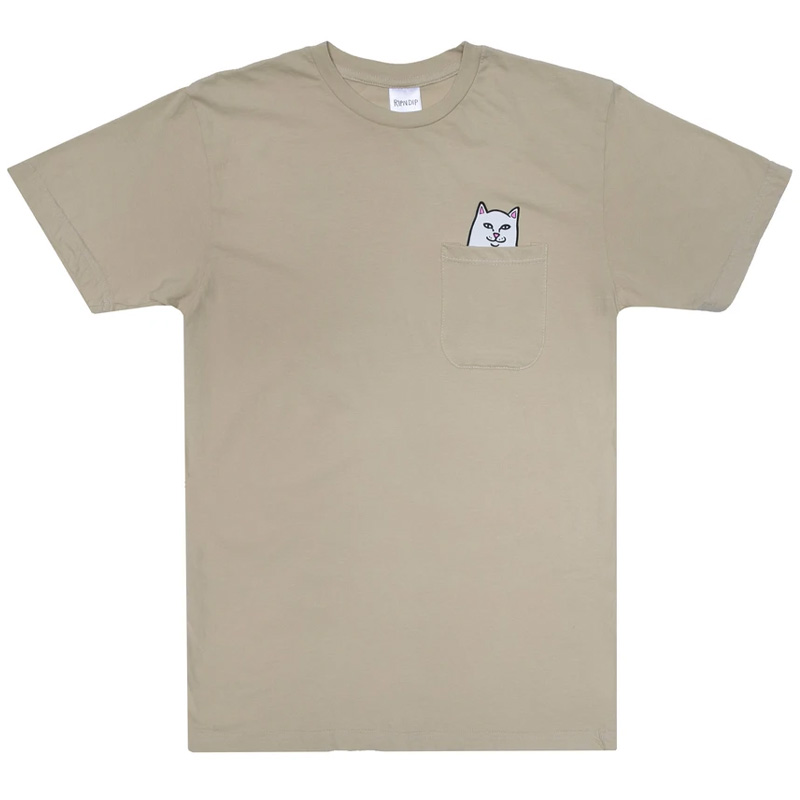 RIPNDIP Lord Nermal Pocket T-Shirt Tan