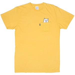 RIPNDIP Lord Nermal Pocket T-Shirt Yellow