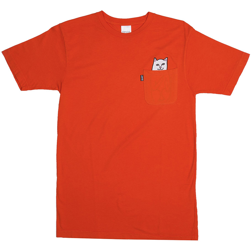 RIPNDIP Lord Nermal T-Shirt Safety Orange