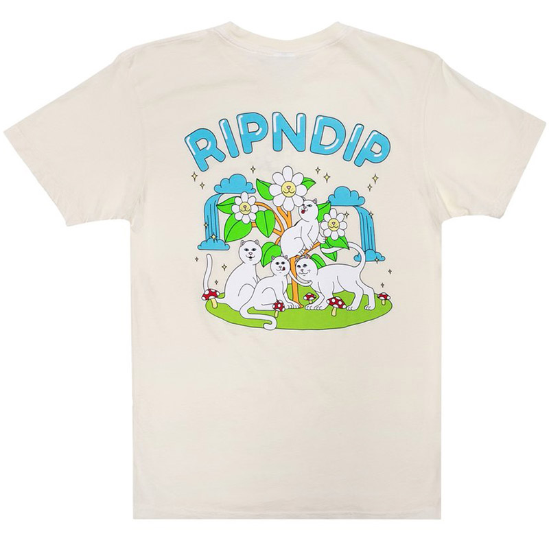 RIPNDIP Magical Place T-Shirt Natural