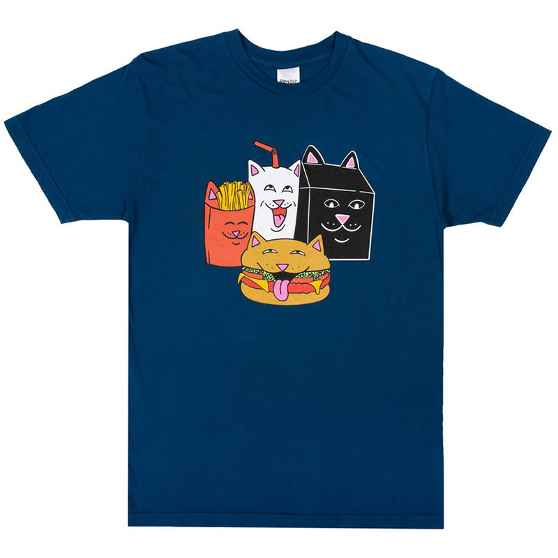 RIPNDIP Mcnerm T-Shirt Harbor Blue