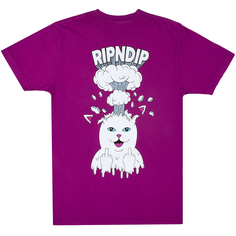 RIPNDIP Mind Blown T-Shirt Purple