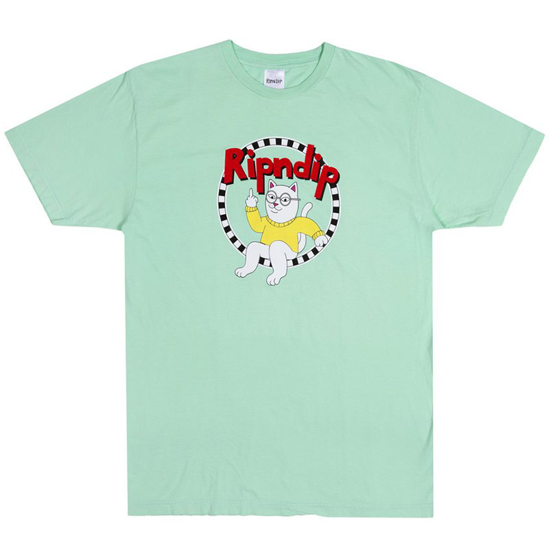 RIPNDIP Narthur T-Shirt Light Mint