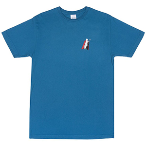 RIPNDIP Nerm De Nunez T-Shirt Harbor Blue