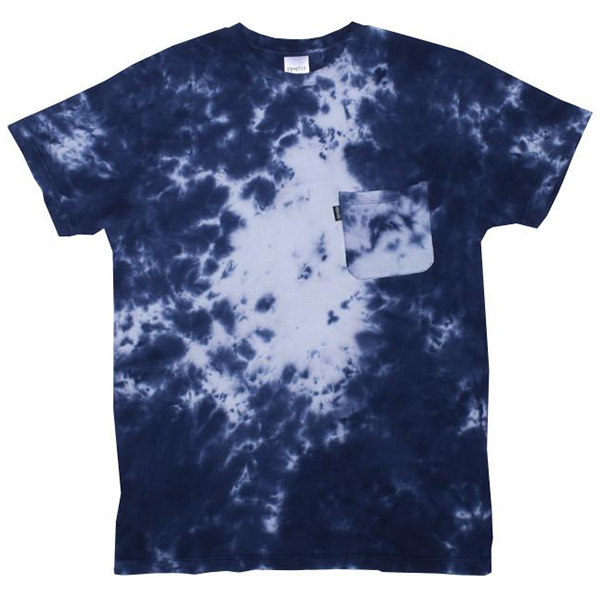 RIPNDIP Nermalisa Pocket T-Shirt Blue Acid Wash