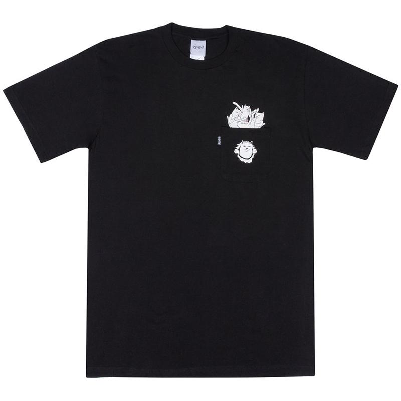 RIPNDIP Nermamaniac T-Shirt Black