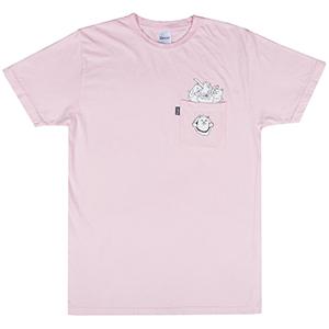 RIPNDIP Nermamaniac T-Shirt Pink
