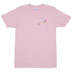 RIPNDIP Nermcasso Pocket T-Shirt Pink
