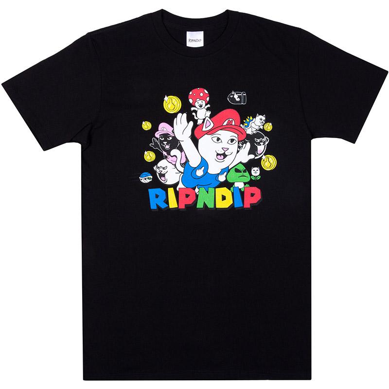 RIPNDIP Nermio T-Shirt Black