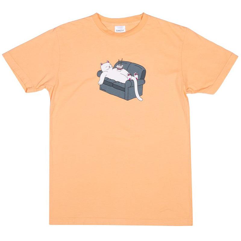 RIPNDIP Noodles T-Shirt Orange