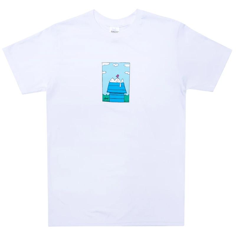 RIPNDIP Not Today T-shirt White