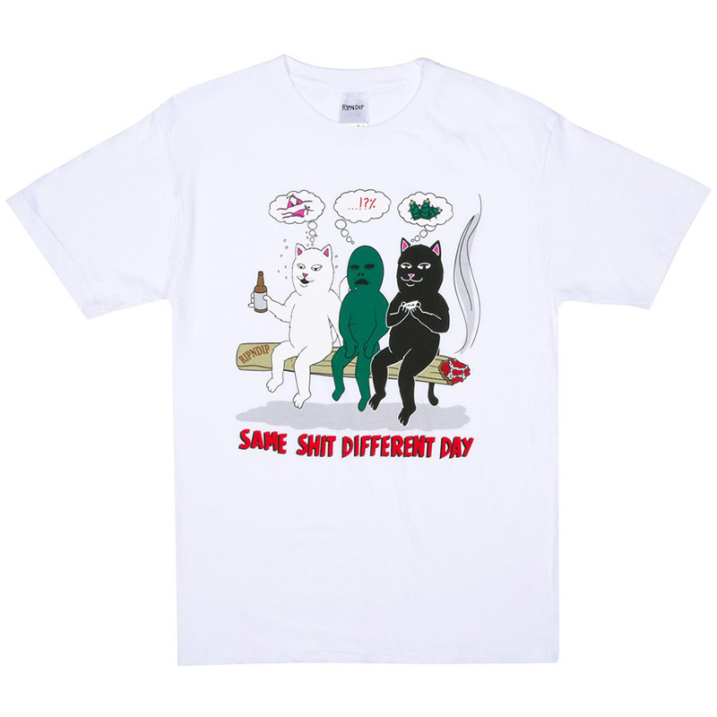 RIPNDIP Same Dreams T-Shirt White