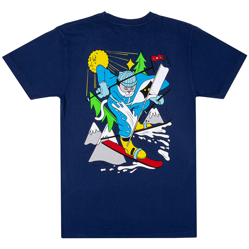 RIPNDIP Slopes T-Shirt Navy