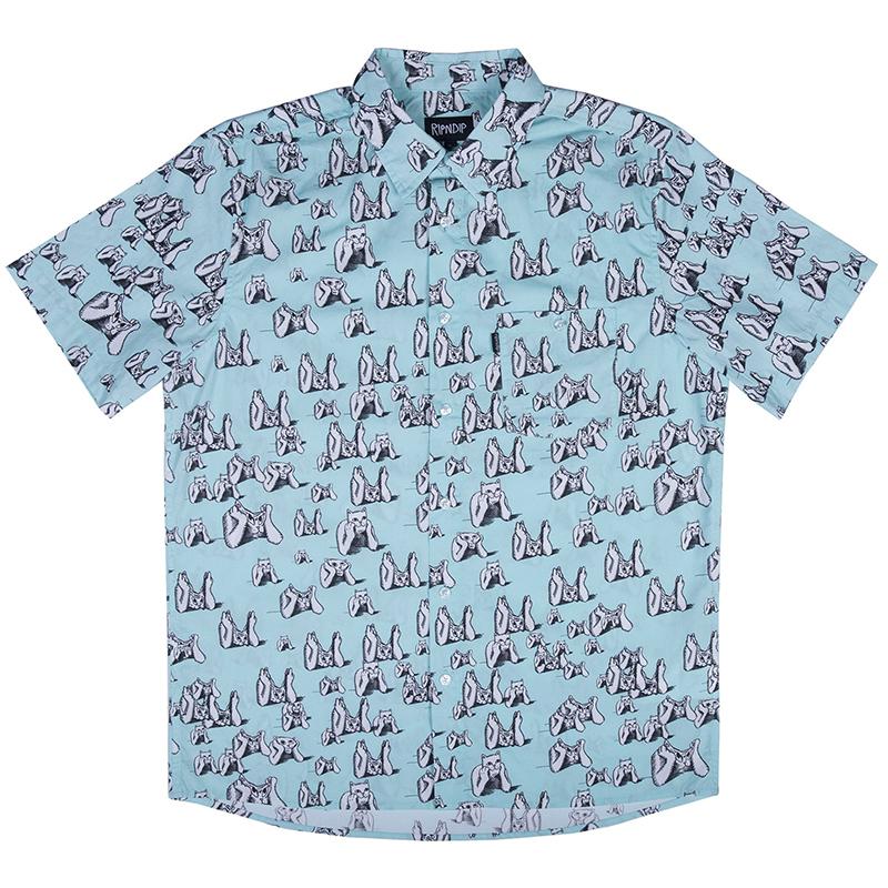 RIPNDIP Stoner Shortsleeve Shirt Mint