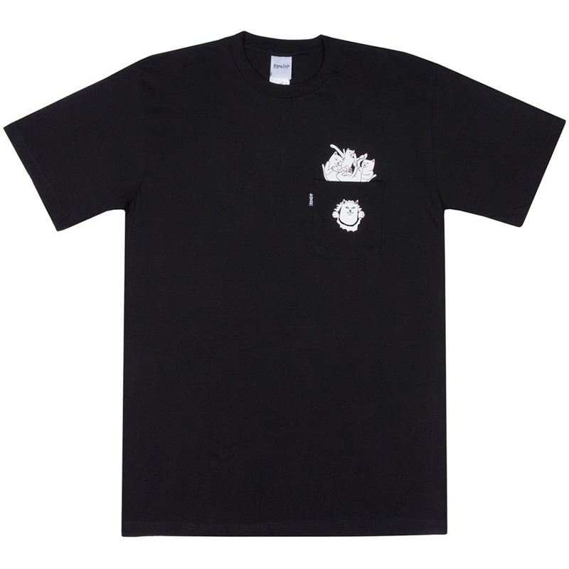 RIPNDIP Stuffed T-Shirt Black