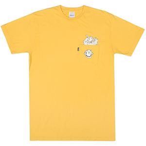 RIPNDIP Stuffed T-Shirt Gold