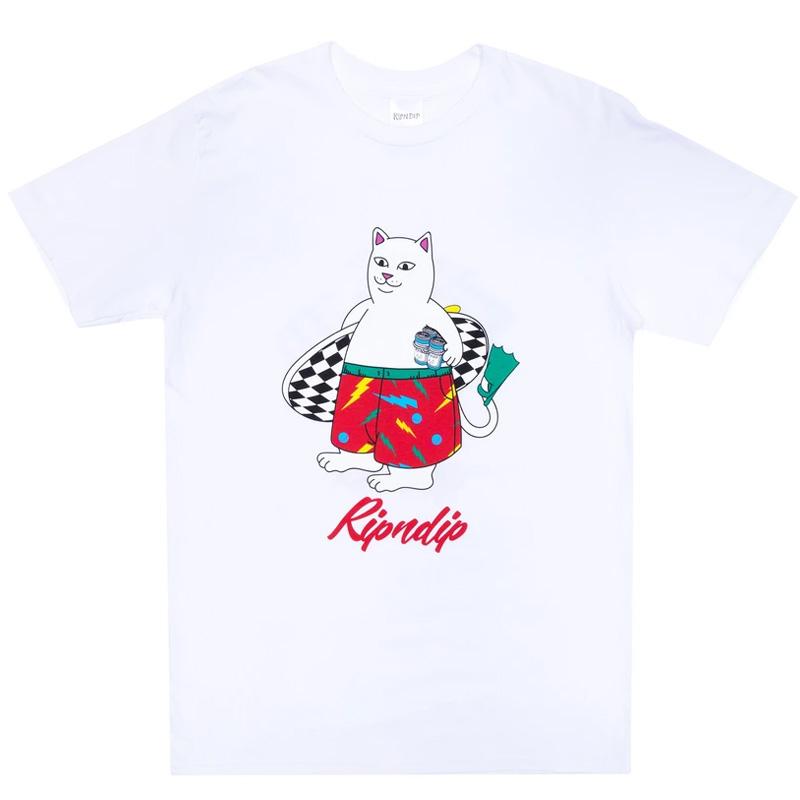 RIPNDIP Surf Break T-Shirt White