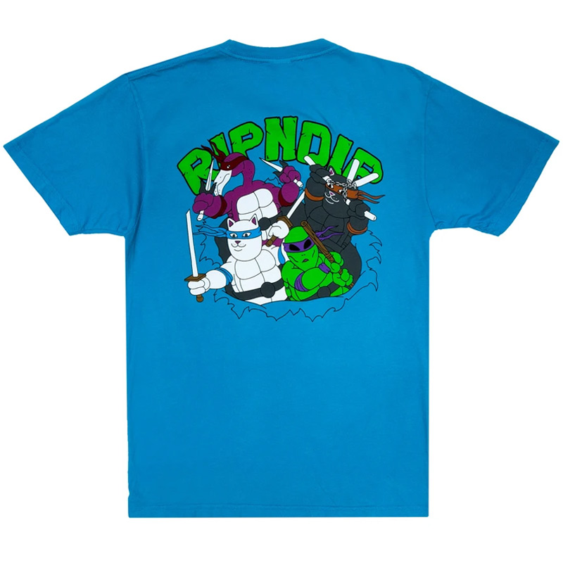 RIPNDIP Teenage Mutant T-Shirt Blue