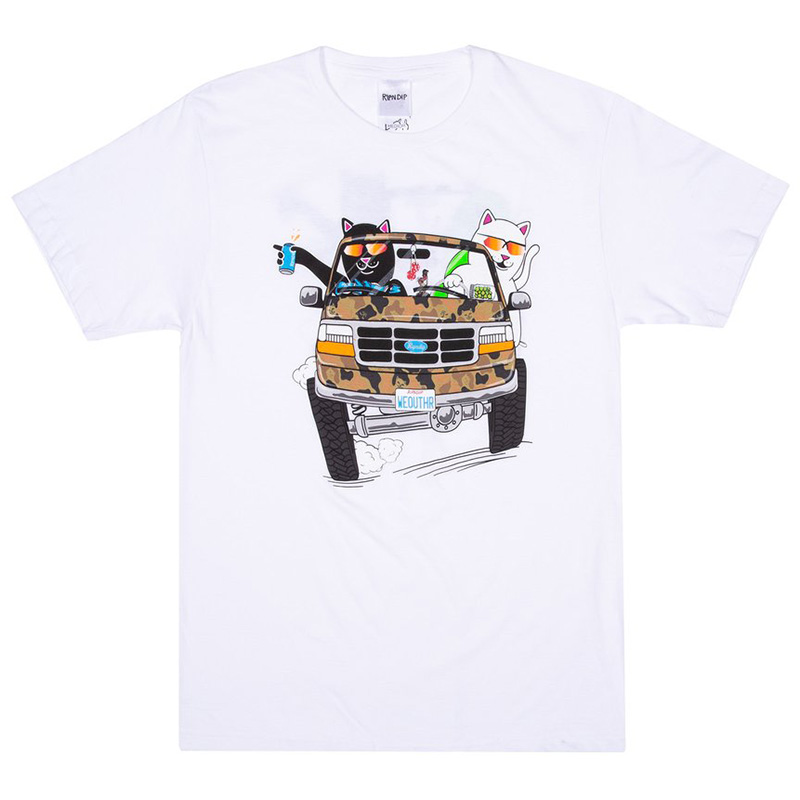 RIPNDIP The Whole Gang T-Shirt White