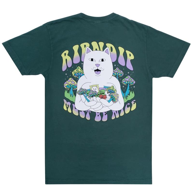RIPNDIP Trippy Treatz T-Shirt Pine