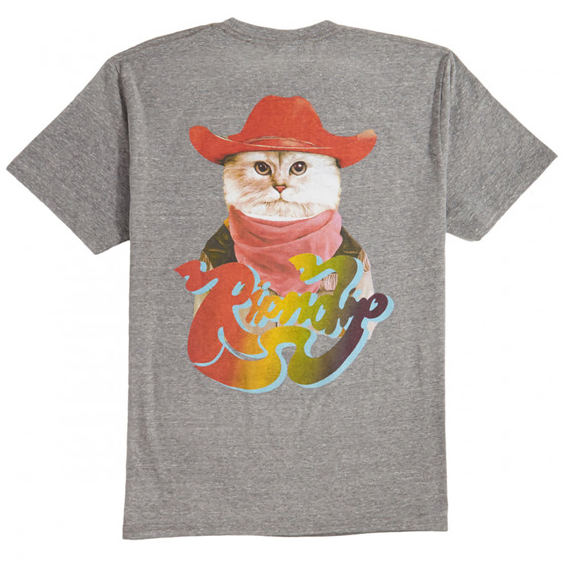 RIPNDIP Yee-Haw T-Shirt Heather Grey