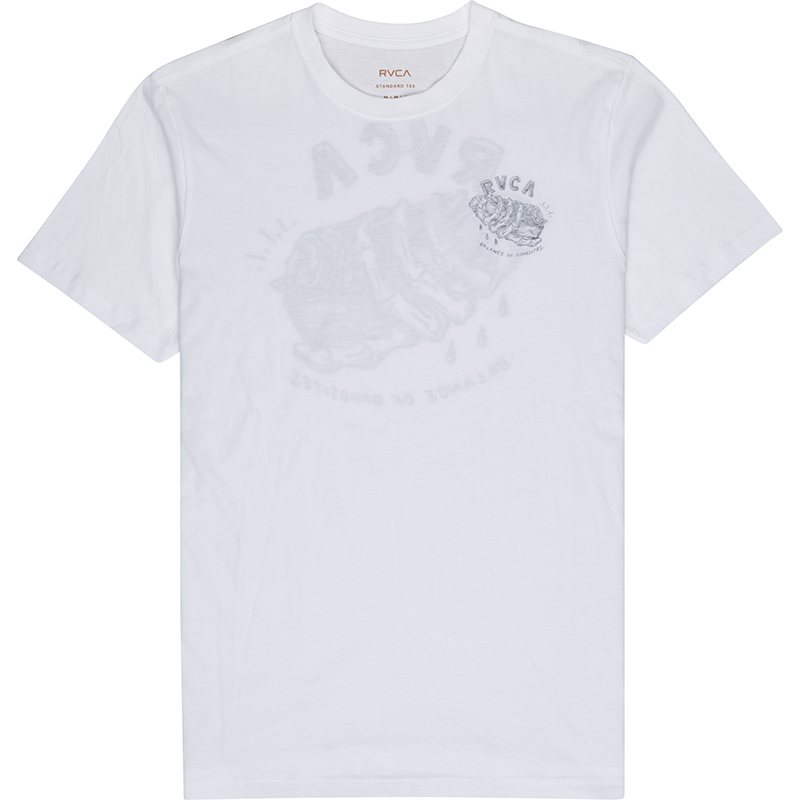 RVCA Gift Front T-shirt White