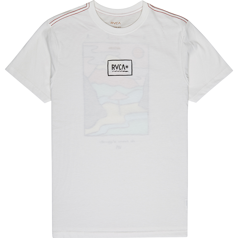 RVCA Isthmus T-shirt Antique White