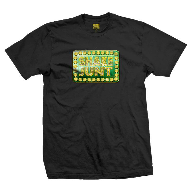 Shake Junt Blinged Out T-Shirt Black