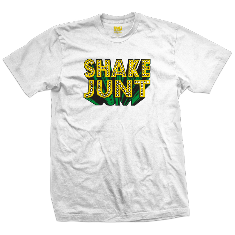 Shake Junt Blockbuster T-Shirt White