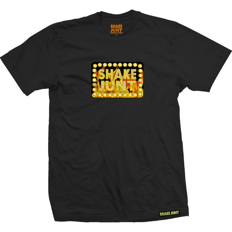 Shake Junt Fuego T-Shirt Black