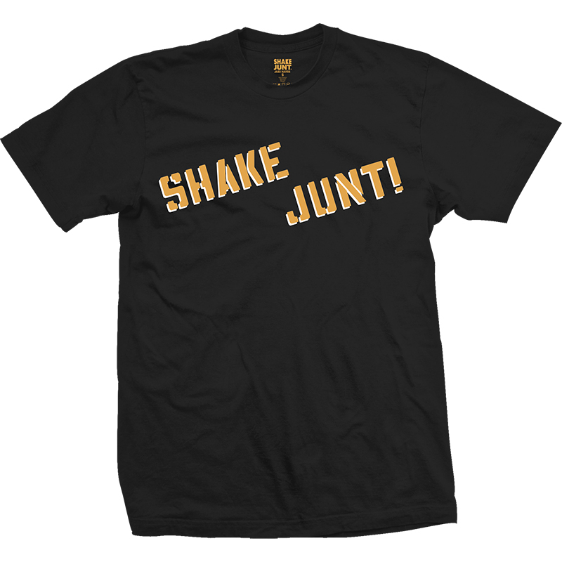 Shake Junt Hayes Grip T-Shirt Black