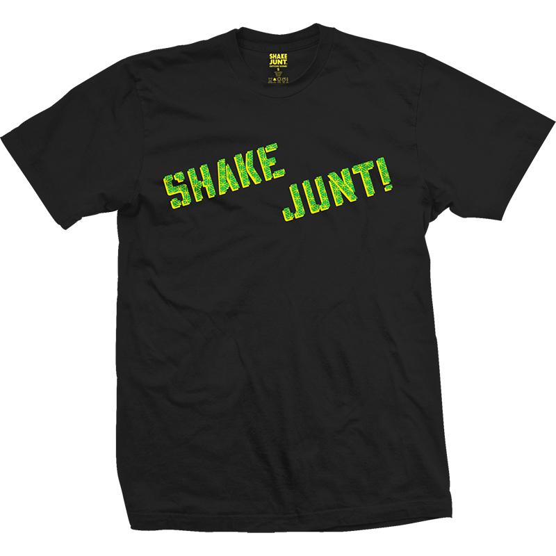 Shake Junt Neen Grip T-Shirt Black