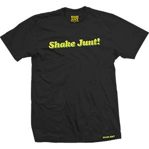 Shake Junt Pleasure Black T-Shirt