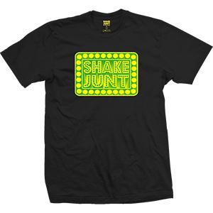 Shake Junt Printed Box Logo T-Shirt Black