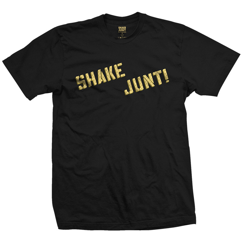 Shake Junt Wade Grip T-Shirt Black