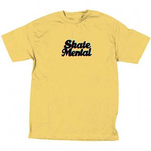 Skate Mental 3D Logo T-Shirt Banana