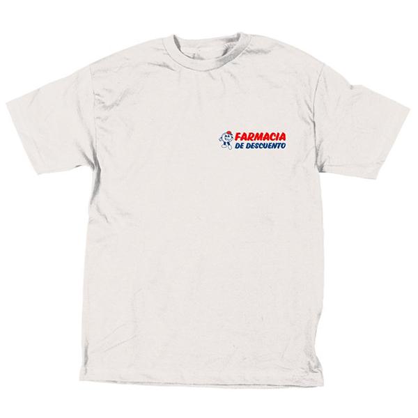 Skate Mental Discount Pharmacy T-Shirt White