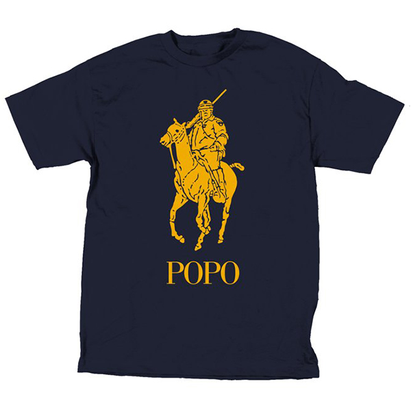 Skate Mental Popo T-Shirt Navy