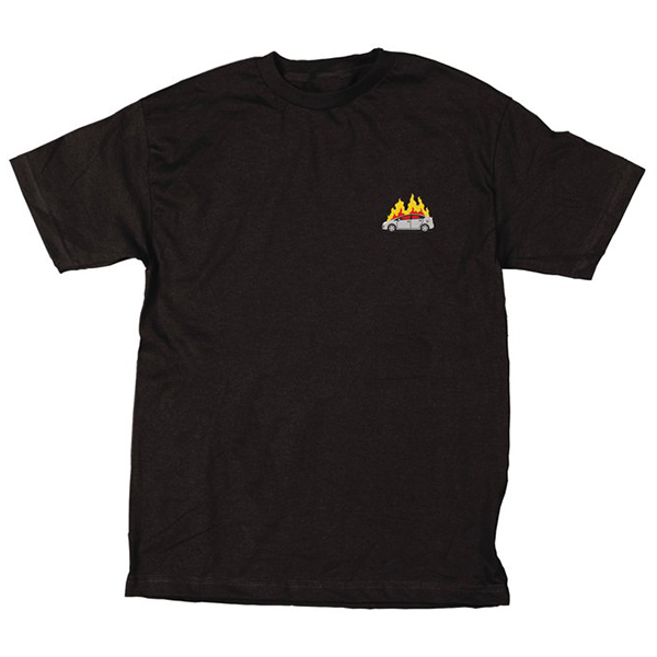 Skate Mental Prius Fire T-Shirt Black