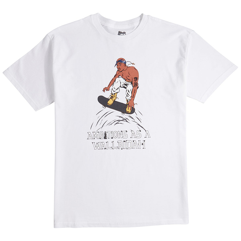 Skate Mental Wallridah T-Shirt White