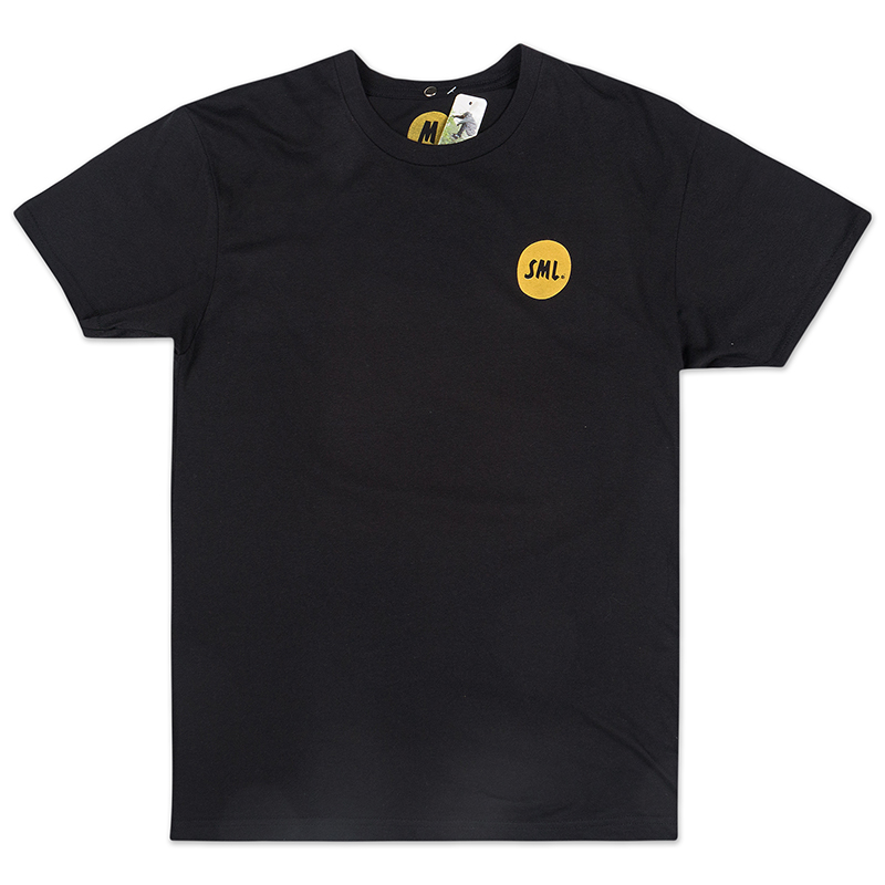 Sml. Grocery Bag T-Shirt Black/Yellow