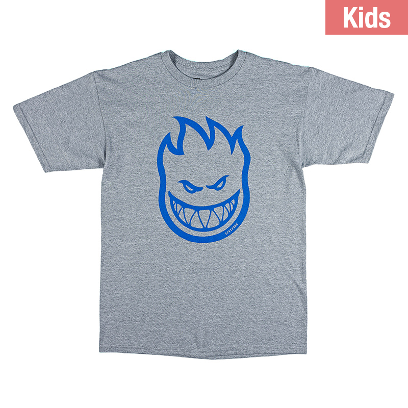 Spitfire Kids Bighead T-Shirt Athletic Heather/Royal