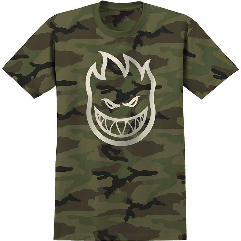 Spitfire Bighead T-Shirt Camo