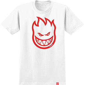 Spitfire Bighead T-Shirt White/Red