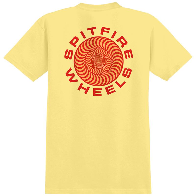Spitfire Classic 87' Swirl T-Shirt Banana