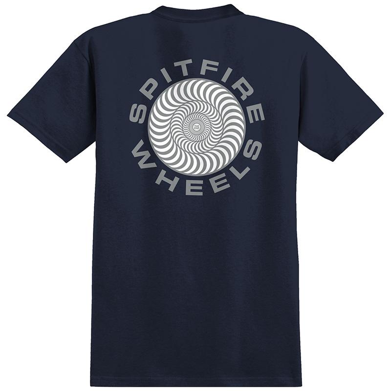 Spitfire Classic 87' Swirl T-Shirt Navy