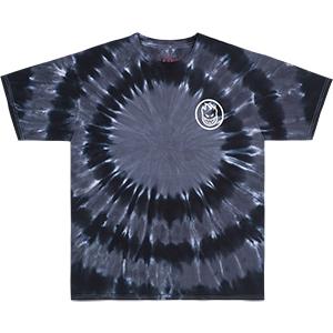 Spitfire Classic Swirl t-Shirt Specialty Body Black/Grey Tie Dye