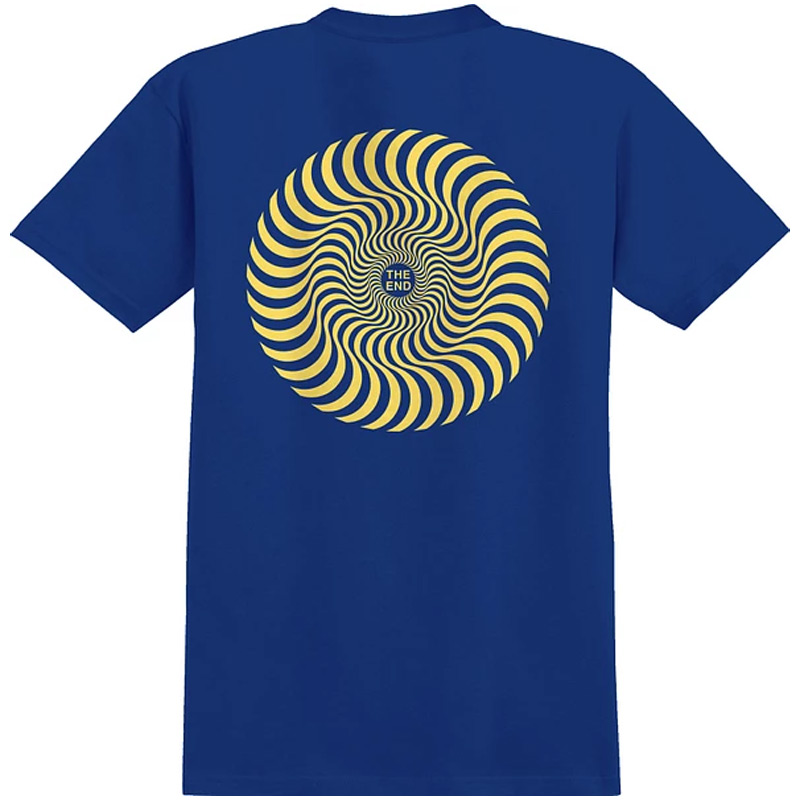 Spitfire Classic Swirl Youth T-Shirt Royal