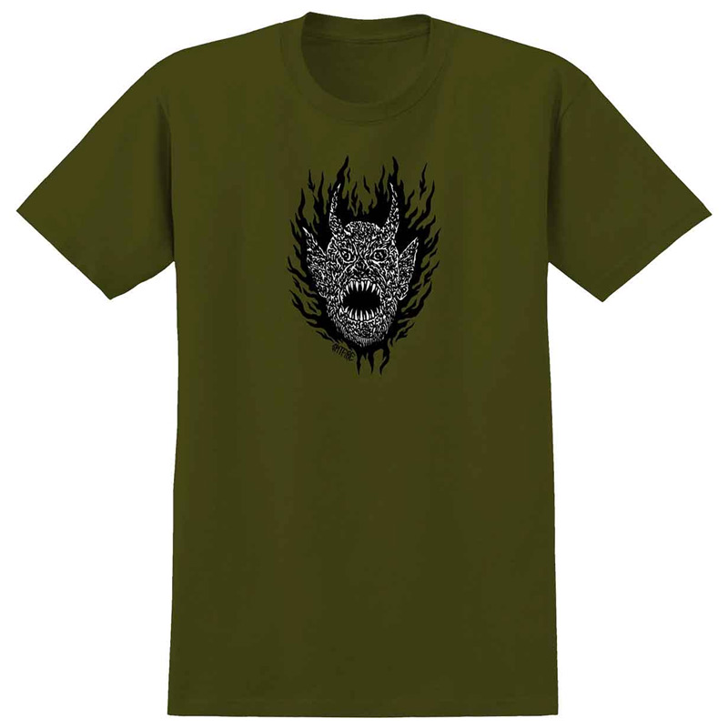 Spitfire Fiend T-Shirt Military Green
